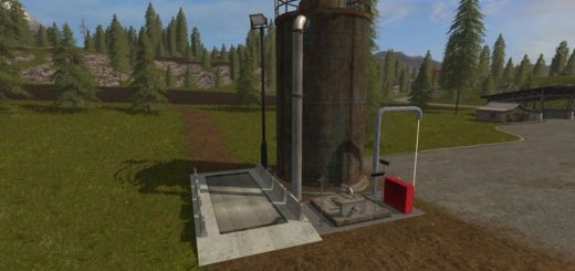 Мод Fermenter 5000 (Fermenting Silo) v 1.2 Placeable Farming Simulator 17