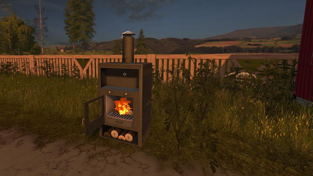 Мод Fireplace v1.0 Farming Simulator 2017