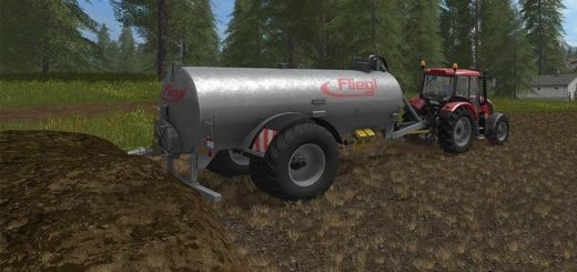 Мод бочка Fliegl VFW 10600 v 1.0 Farming Simulator 17
