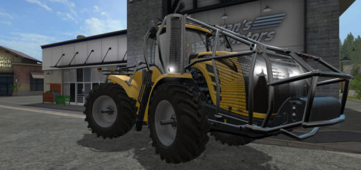Мод трактор Challenger MT 900e Forest v 1.0 Farming Simulator 17