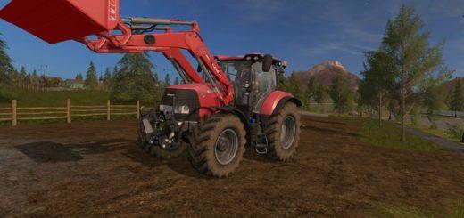 Мод Frontloader CaseIH LRZ 150 v1.0 Farming Simulator 2017