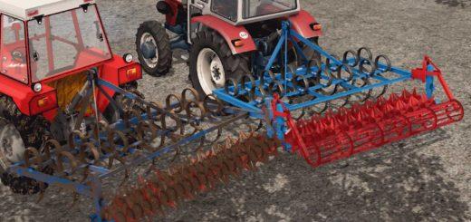 Мод культиваторы Gorenc 220 Granoter v 1.0 Farming Simulator 17
