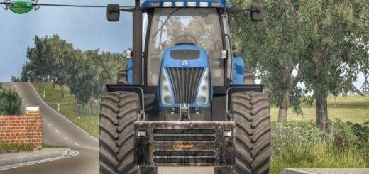 Мод противовес Hauer 1400Kg v 1.0.0.0 Farming Simulator 2017