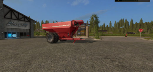 Мод прицеп Horsch Titan 34 UW Twin v1.1 Farming Simulator 2017