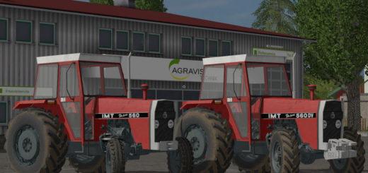 Мод трактора IMT 560 Deluxe & DV v 1.0.0.0 Farming Simulator 2017