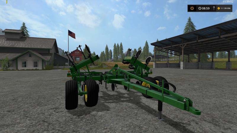 Мод плуг John Deere 2100 Plow v 1.1 Farming Simulator 2017