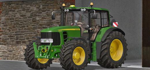 Мод трактор John Deere 6030 Premium (6630 / 6830 / 6930) v 1.0 Farming Simulator 2017