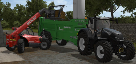 Мод прицеп Joskin Tornado 3 v 2.0 Farming Simulator 17