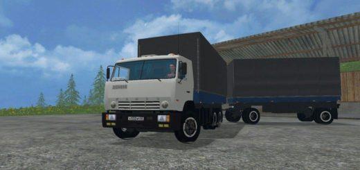 Мод грузовик Камаз KAMAZ 53212 GKB Фермер Симулятор 2017