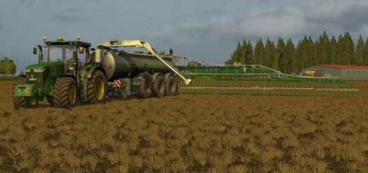 Мод бочка Kaweco Turbo Tanker 30000 v 2.0 Farming Simulator 2017
