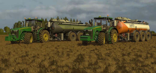 Мод Kaweco Turbo Tanker 30000 v 2.0 Orange/Weiß Farming Simulator 17
