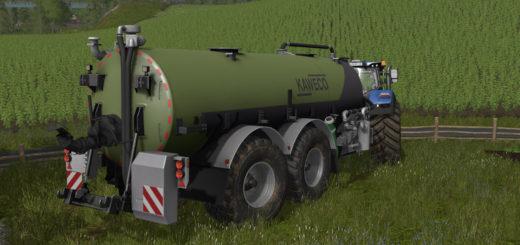 Мод бочка Kawecofass 2600L with baffle plates v 1.0 Farming Simulator 17