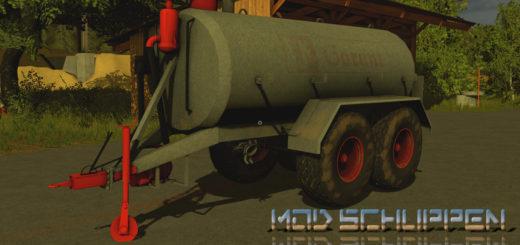 Мод бочка Kotte 14000 v 1.0 Farming Simulator 2017