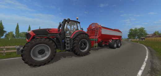 Мод прицеп Krampe Bandit 750 v1.0 Farming Simulator 2017
