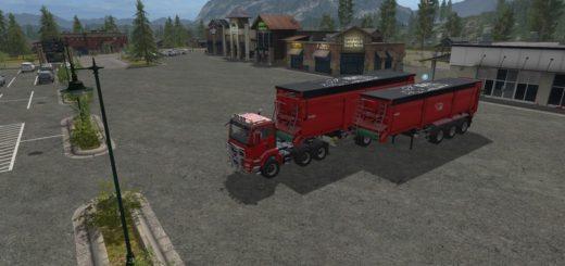 Мод прицепы Krampe SB30 / 60 V1.1.0.0 Farming Simulator 17