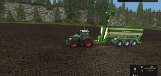 Мод прицеп Krone TX430 v 1.0.1.0 Farming Simulator 2017