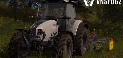 Мод трактор Lamborghini Nitro 100 T4i VRT v 1.0 Farming Simulator 17