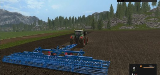 Мод культиватор Lemken Gigant 10 v 1.1.0.0 Farming Simulator 2017