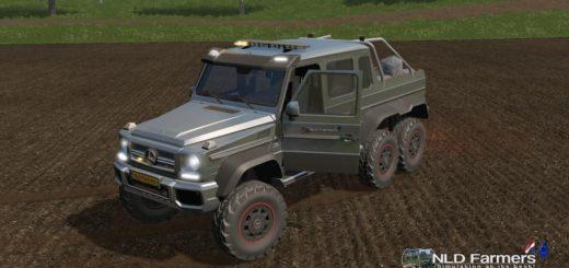 Мод авто Mercedes Benz G65 All Seeds v 1.1.0.0 Farming Simulator 17