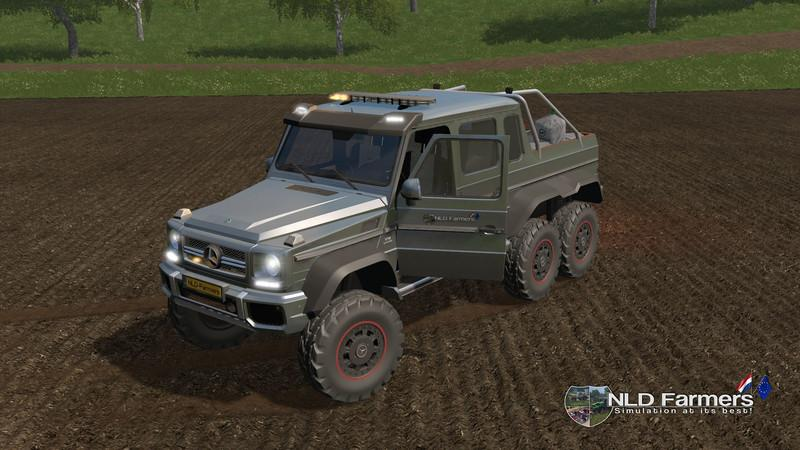 Мод авто Mercedes Benz G65 All Seeds v 1.1.0.0 Farming Simulator 17