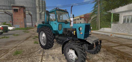 Мод трактор МТЗ MTZ-82 Belarus 4WD Фермер Симулятор 2017