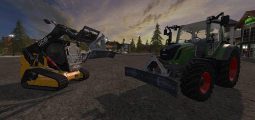 Мод Mud scrapers v1.0 Farming Simulator 17