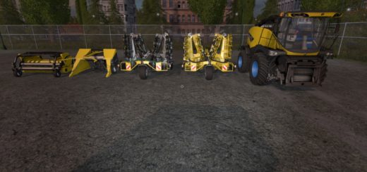 Мод ПАК NEW HOLLAND FR85 PACK V 1.0 Farming Simulator 2017