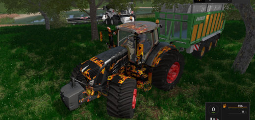 Мод трактор Fendt 900 Vario v 1.0 Farming Simulator 2017
