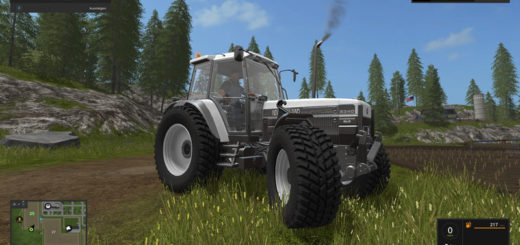 Мод трактор New Holland 8340DE v 1.0 Farming Simulator 17