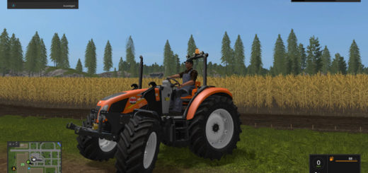 Мод трактор New Holland T4 Kommunal v 2.2 Farming Simulator 17