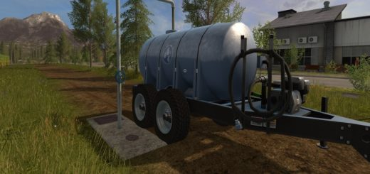 Мод Placeable water supply station v1.0 Farming Simulator 16