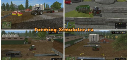 Мод карта Rocky Mountains V 1.6 Farming Simulator 17