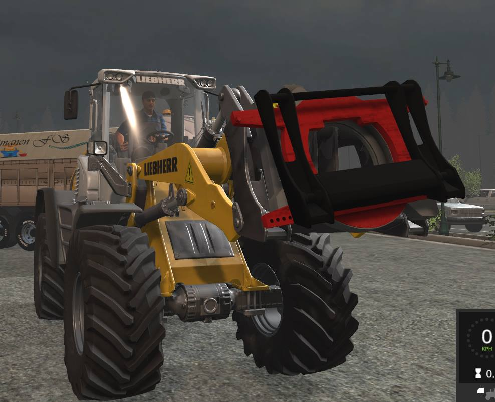 Мод Rotor Mount Wheelloader v1.0 Farming Simulator 2017