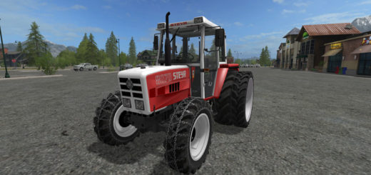Мод трактор STEYR 8070a SK2 v 1.0 Farming Simulator 2017