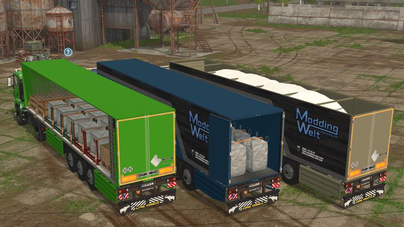 Мод прицеп Schmitz Cargo Bull v 1.0 Farming Simulator 2017