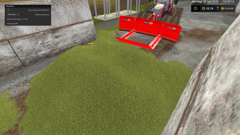 Мод лопата Shield Holaras 500 NV V 2.1.1 Farming Simulator 17