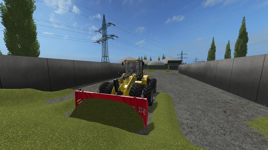 Мод Stegemann Telescope corn sliding shield v1.0 Farming Simulator 2017