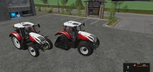 Мод трактор Steyr Terrus CVT v 1.3 Farming Simulator 17