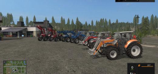 Мод ПАК Stoll FZ modPack V 1.0 Farming Simulator 17