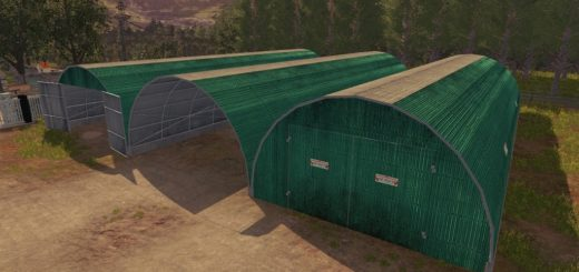 Мод Storage Tunnel Beiser v1.0 Farming Simulator 2017