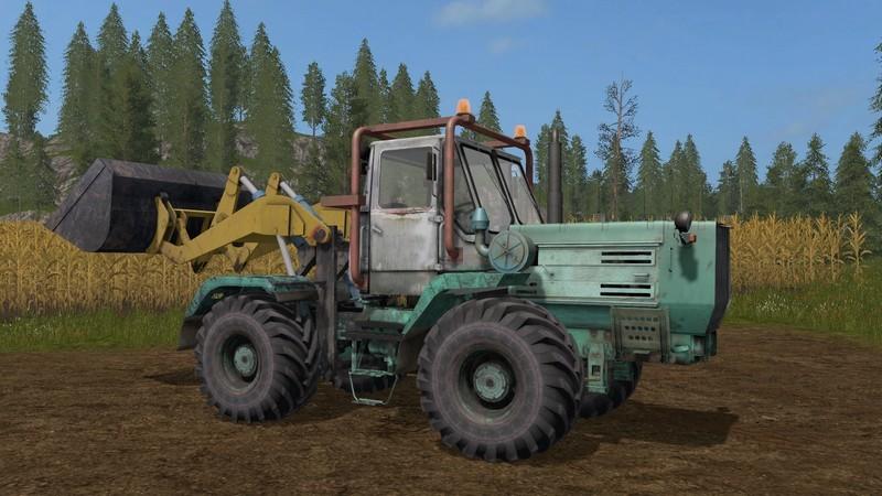 Мод трактор Т 150К TO-25 FrontLoader v 1.0 Фермер Симулятор 2017