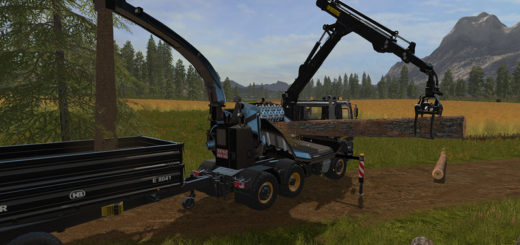 Мод TATRA PHOENIX 6X6 Jenz HEM583 V 1.0 Farming Simulator 2017