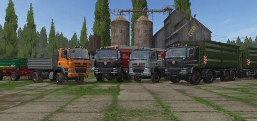 Мод ПАК Татра Tatra Phoenix Agro Pack v 2.0 Farming Simulator 17