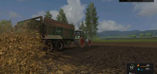 Мод прицеп Tebbe HS 180 v 1.1 Farming Simulator 2017