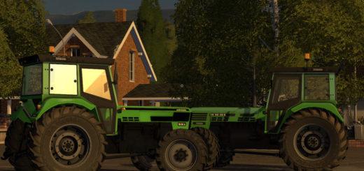 Мод трактора Deutz Torpedo 9006 A & Torpedo 90 A Adriatic v 1.1.0.0 Farming Simulator 17