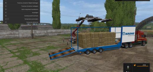 Мод прицеп Truck trailer V 1.0 wsb Farming Simulator 17