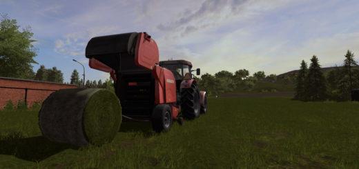 Мод тюкопресс Ursus Z-594 v 1.1 Farming Simulator 2017