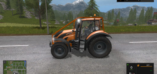 Мод трактор Valtra T Series v 1.1 Farming Simulator 2017