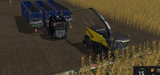 Мод тягач Volvo 10x10 FUNMOD V 1.0 Farming Simulator 17