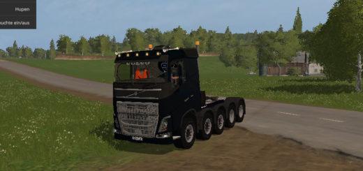 Мод тягач Volvo 10x10 V 1.0 Farming Simulator 2017